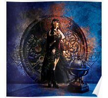 Captain Persephone Blue Poster