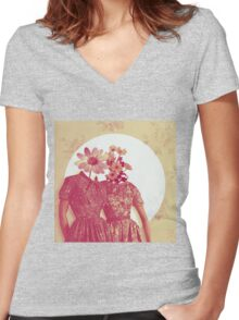 You Smell Nice Women's Fitted V-Neck T-Shirt