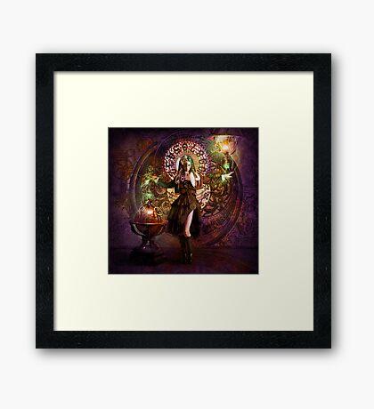 Captain Persephone Framed Print