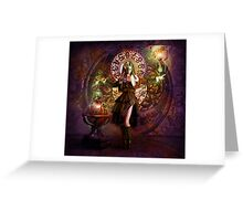 Captain Persephone Greeting Card