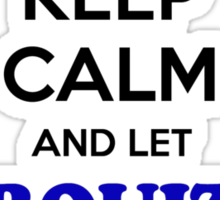 Keep Calm and Let URQUIZO Handle it Sticker