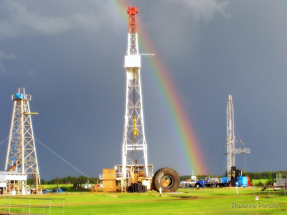 End of the Rainbow - Black Gold by Roxanne Persson