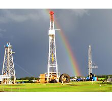 End of the Rainbow - Black Gold Photographic Print