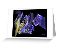 Complementary Chaos Greeting Card