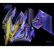 Complementary Chaos Photographic Print