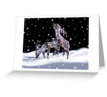 Reindeer Games Greeting Card