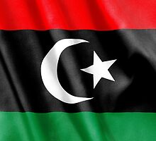 Libya Flag by MarkUK97