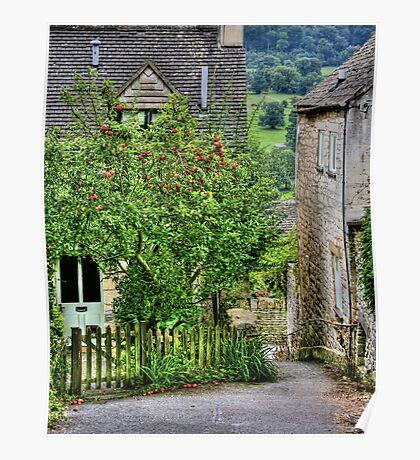 """Apple Tree Cottage"" Poster"