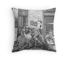 eat fresh Throw Pillow