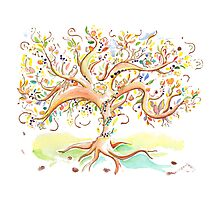 Tree of life / An animation for the Fanconi Anemia Research Fund  Photographic Print