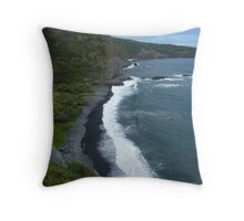 Road to Hana in Maui.... Throw Pillow