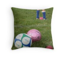 Ball Talk Throw Pillow