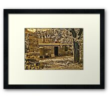 Back to Steiglitz - The Blacksmiths House Framed Print