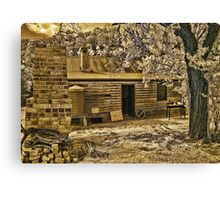 Back to Steiglitz - The Blacksmiths House Canvas Print