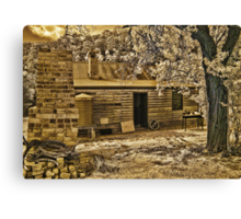 Back to Steiglitz - The Blacksmiths House Canvas Print