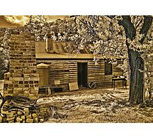 Back to Steiglitz - The Blacksmiths House Photographic Print
