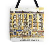 Albermarle Mansions, Holloway Road, N7 Tote Bag