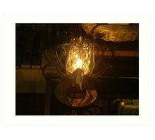 Lamp design Art Print