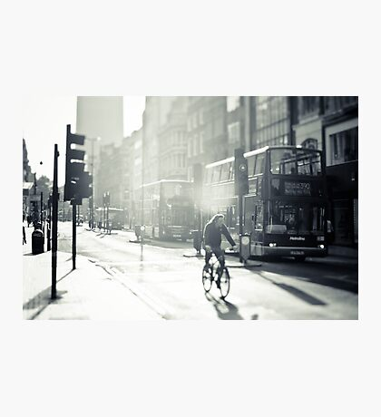 London in Black and White Photographic Print