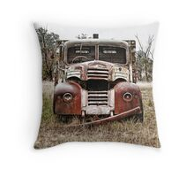 The Rattler Throw Pillow