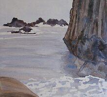 High Tide at Seal Rock by JennyArmitage