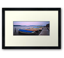 Koolewong - Sheafer's Wharf Framed Print