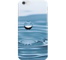 Water Drop with Ripples iPhone Case/Skin