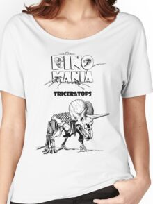 Dino Mania Triceratops Women's Relaxed Fit T-Shirt