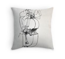 Grooven Throw Pillow