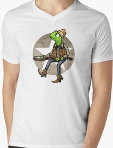 nothing haults this frog Mens V-Neck T-Shirt