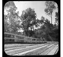 Bridge over the Cobungra River at Angler's Rest Photographic Print