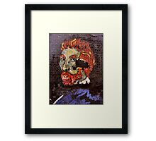 The Puzzle that is Vincent ( Homage to Vincent ) Framed Print