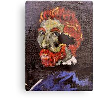 The Puzzle that is Vincent ( Homage to Vincent ) Metal Print