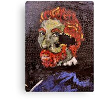 The Puzzle that is Vincent ( Homage to Vincent ) Canvas Print