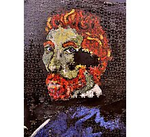 The Puzzle that is Vincent ( Homage to Vincent ) Photographic Print
