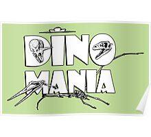 Dino Mania Logo Poster