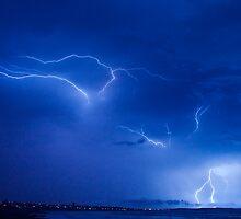 Lightning,Geraldton Western Austalia by ShaunRose