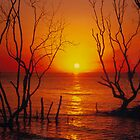 Sunset Stradbroke Island by smallan