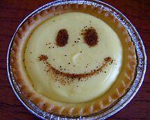 Custard Tart Smile. by Gabrielle  Hope