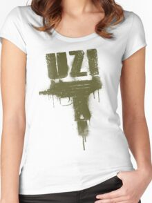 UZI -V2- Women's Fitted Scoop T-Shirt