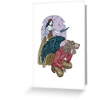 Love Gives Us Wings Greeting Card