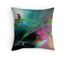 Someday (an image, a poem & music)  Throw Pillow
