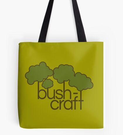 Green trees, bush craft Tote Bag