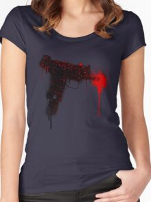 UZI -V3- Women's Fitted Scoop T-Shirt