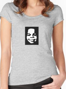 Obey Gary Women's Fitted Scoop T-Shirt