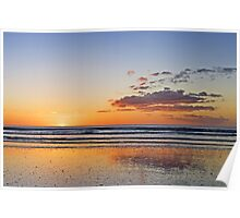 A Tranquil Evening On The Beach Poster