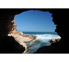 Woolshed cave Photographic Print
