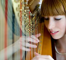 The Harpist #2 by Mark Elshout