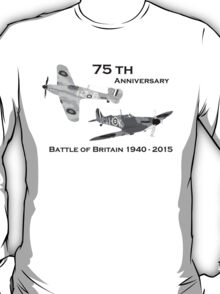 Battle of Britain 75th Anniversary  T-Shirt