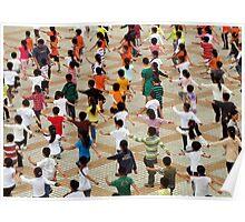 PE for the masses, Yangzhou, China Poster